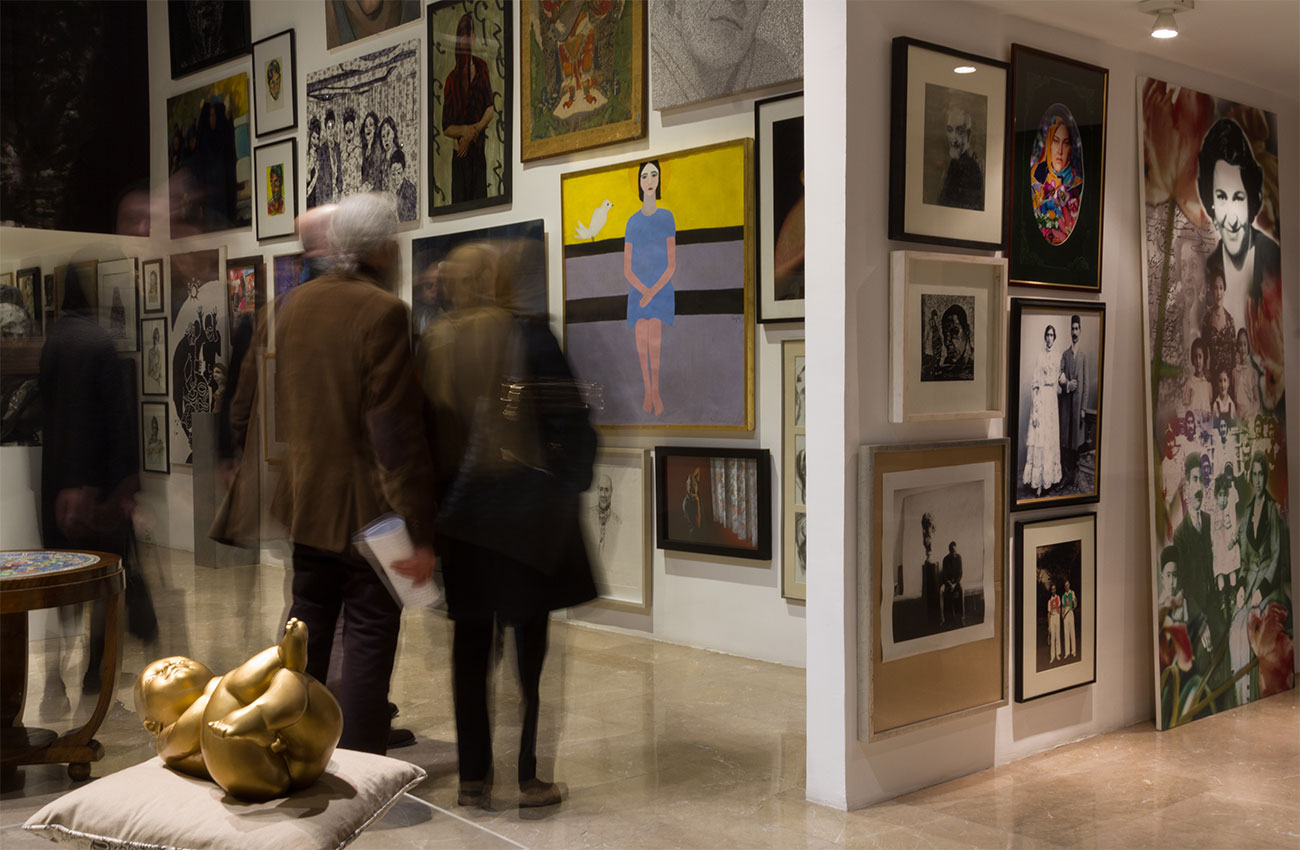 Lajevardi Foundation|Visages An Exhibition of the private collection of Fereydoun Ave